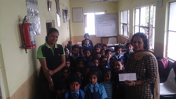 Education of the Children of the Underprivileged section of the Society