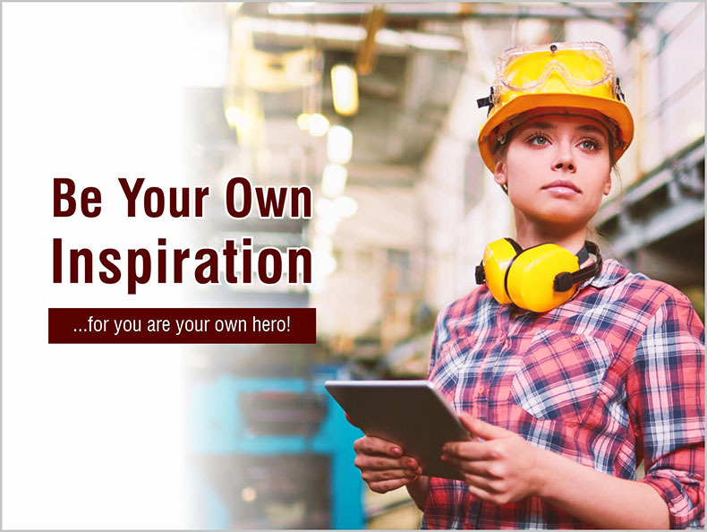 How Women Can Be Their Own Inspiration