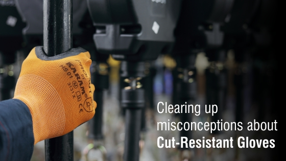 Clearing Up Misconceptions about Cut Resistant Gloves