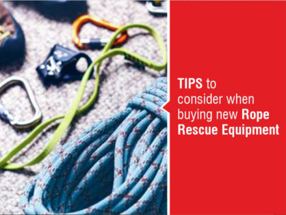 Tips to Consider When Buying New Rope Rescue Equipment