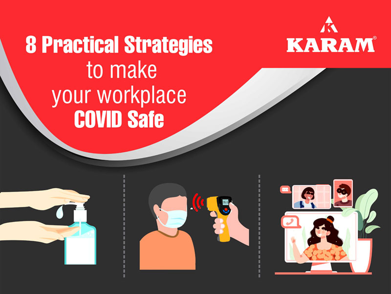 8 Practical strategies to make your workplace COVID safe