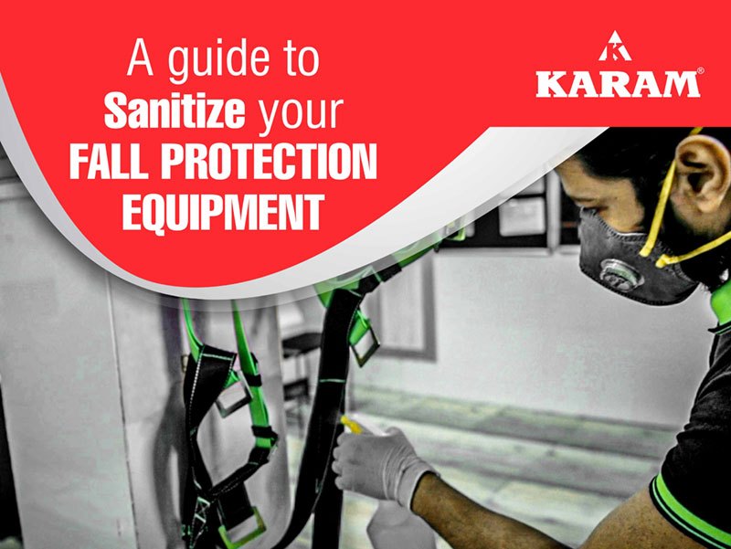 A Guide to Sanitize Your Fall Protection Equipment