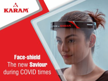 Face-shield – The new saviour during COVID times