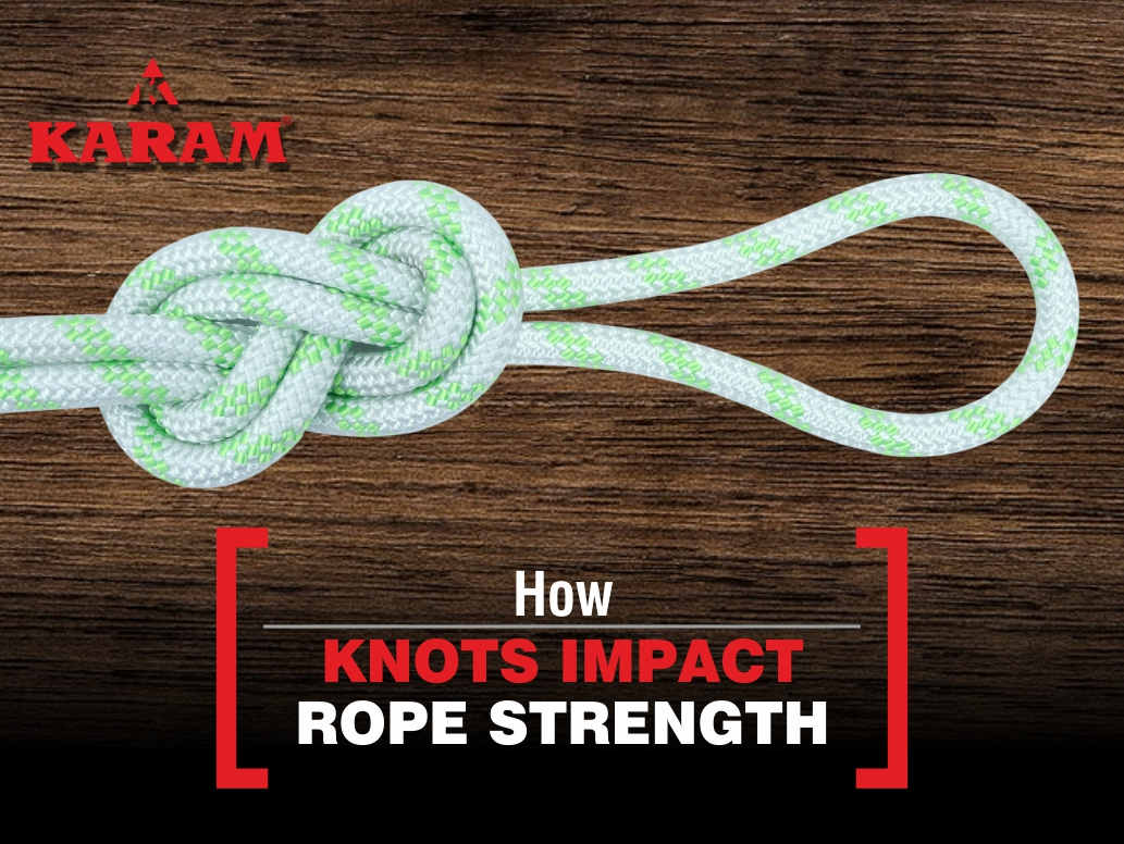 Impact of knots on Rope strength