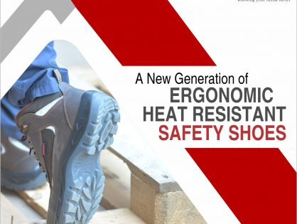 A new generation of Ergonomic Heat Resistant Safety Shoes